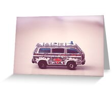 Toy Ambulance Greeting Card