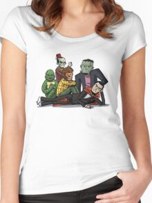 The Monster Club Women's Fitted Scoop T-Shirt