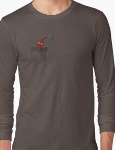 Red Pikmin in your Pocket! Long Sleeve T-Shirt