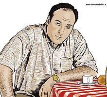 JAMES GANDOLFINI B'UON ANIMA by casualco