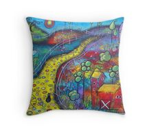 My Enchanted Ride Throw Pillow