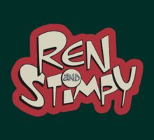 Ren and Stimpy Logo by FreonFilms