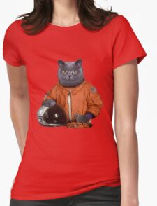Astrocat Womens Fitted T-Shirt
