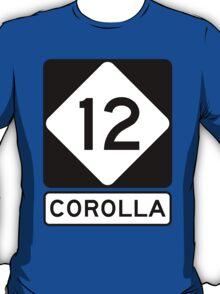 NC 12 - Corolla  T-Shirt