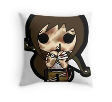 """Sam!"" Throw Pillow"