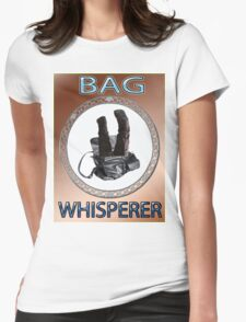 BAG WHISPERER Womens Fitted T-Shirt