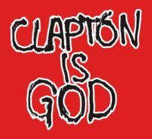 Clapton is God | London subway grafitti | Unisex T-Shirt
