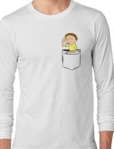Morty Pocket Long Sleeve T-Shirt