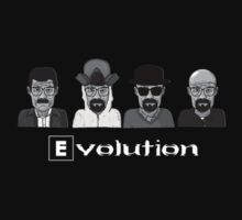 Heisenberg's Evolution - Black by waqqas