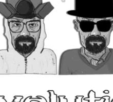 Heisenberg's Evolution - Black Sticker