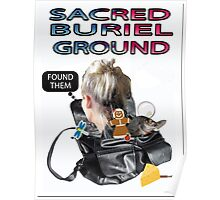 SACRED BURIEL GROUND Poster