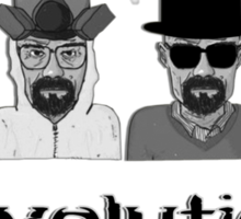 Heisenberg's Evolution - White Sticker