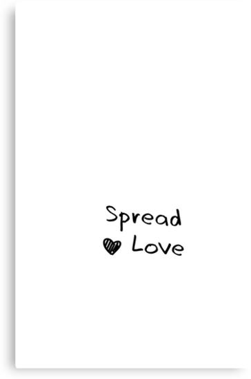 spread love by juls santos