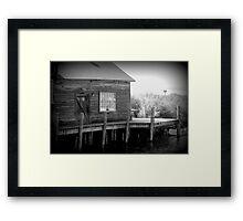 Fishtown, Leland MI Framed Print