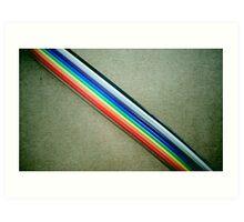 Ribbon Cable Art Print