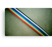 Ribbon Cable Canvas Print