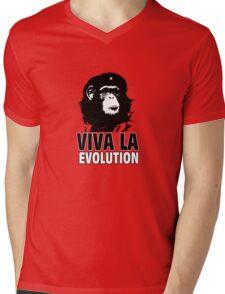 VIVA LA EVOLUTION Mens V-Neck T-Shirt