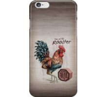 Year of the Rooster iPhone Case/Skin