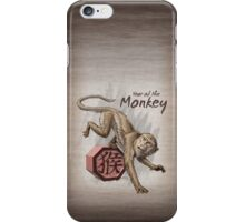 Year of the Monkey iPhone Case/Skin
