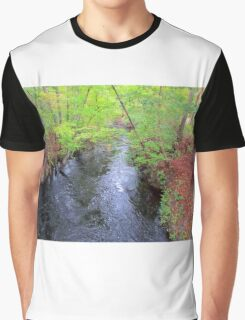 Creek In The Country Graphic T-Shirt