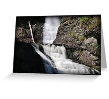 Twist Of Falls Greeting Card