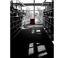 Chair of knowledge Photographic Print