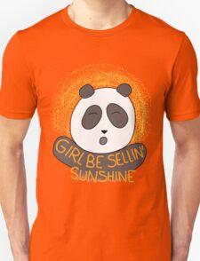 Girl be sellin' sunshine - Panda's song ( We Bare Bears ) Unisex T-Shirt