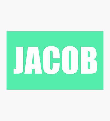 Jacob Masters Photographic Print