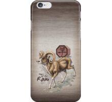 Chinese Zodiac - the Ram iPhone Case/Skin