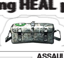 Battlefield 3 Assault Kit Sticker