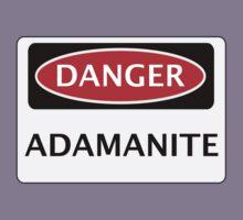 DANGER ADAMANITE FAKE ELEMENT FUNNY SAFETY SIGN SIGNAGE Kids Clothes