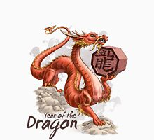 Chinese Zodiac - the Dragon Womens Fitted T-Shirt