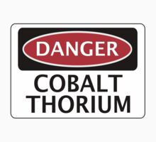 DANGER COBALT THORIUM FAKE ELEMENT FUNNY SAFETY SIGN SIGNAGE by DangerSigns