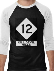 NC 12 - Kill Devil Hills Men's Baseball ¾ T-Shirt