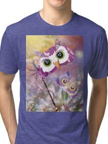 Dawn Owl Tri-blend T-Shirt