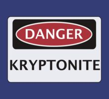 DANGER KRYPTONITE FAKE ELEMENT FUNNY SAFETY SIGN SIGNAGE by DangerSigns