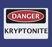 DANGER KRYPTONITE FAKE ELEMENT FUNNY SAFETY SIGN SIGNAGE by DangerSigns