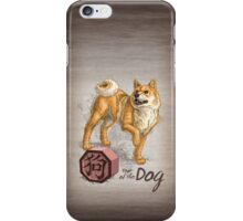 Chinese Zodiac - Year of the Dog iPhone Case/Skin