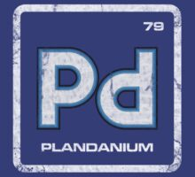 Element of Plandanium (Grunge) by justinglen75