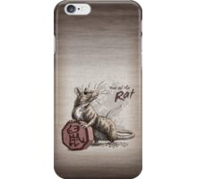 Chinese Zodiac - Year of the Rat iPhone Case/Skin