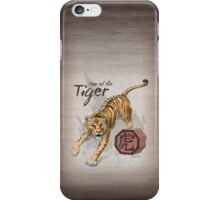 Chinese Zodiac - Year of the Tiger iPhone Case/Skin