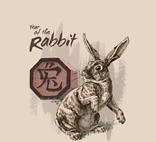 Chinese Zodiac - Year of the Rabbit Womens Fitted T-Shirt