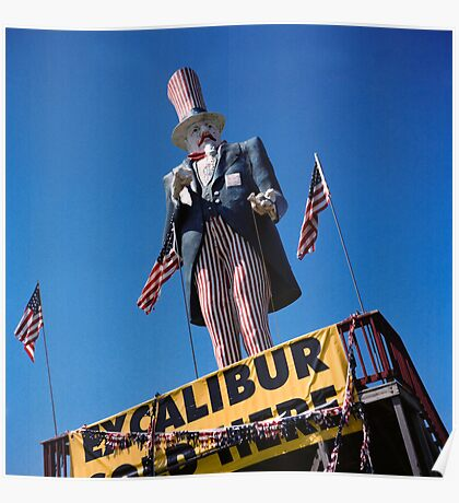 Excalibur Sold Here Poster