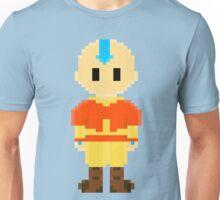 Avatar Last Airbender 8Bit Aang 3nigma Unisex T-Shirt