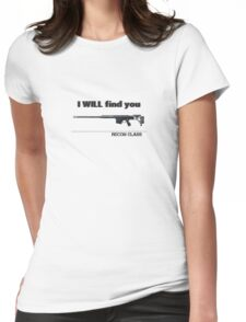 Battlefield 3 Recon Kit Womens Fitted T-Shirt