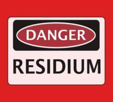 DANGER RESIDIUM FAKE ELEMENT FUNNY SAFETY SIGN SIGNAGE Kids Clothes