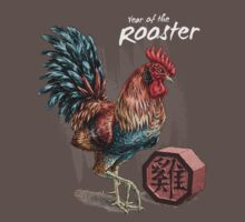 Year of the Rooster Card Kids Clothes
