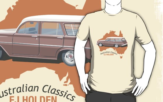 Holden EJ (Special) Station Sedan - Australian Classics by contourcreative