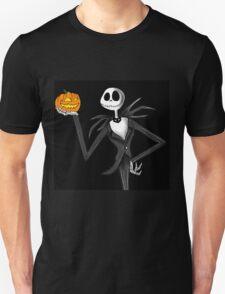 Jack Skellington and his pumpkin Unisex T-Shirt