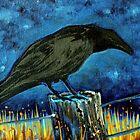 Raven Wisdom by Laura Lea Comeau